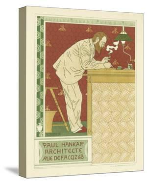 Paul Hankar Architecte by Adolphe Crespin