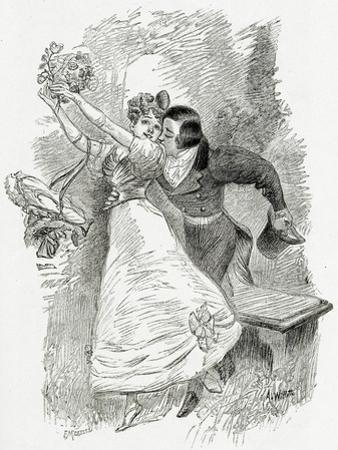 Illustration from Toute La Lyre,19th Century