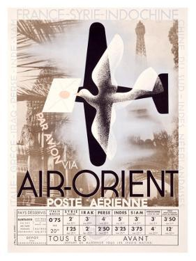 Air Orient by Adolphe Mouron Cassandre