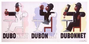Dubonnet, 1932 by Adolphe Mouron Cassandre