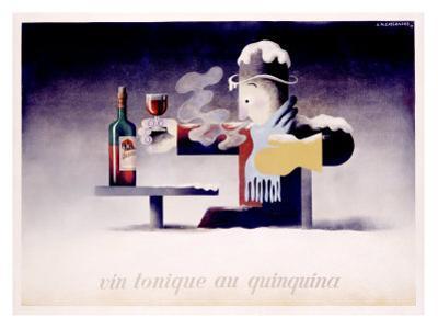 Dubonnet, Vin Tonique Quinquina by Adolphe Mouron Cassandre
