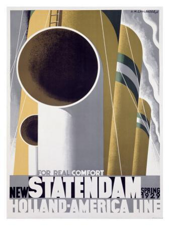 New Standendam by Adolphe Mouron Cassandre
