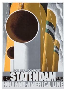 New Statendaam by Adolphe Mouron Cassandre