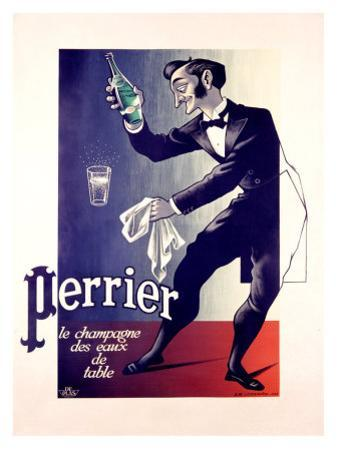 Perrier Mineral Water by Adolphe Mouron Cassandre