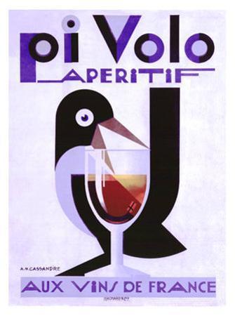 Pivolo Aperitif by Adolphe Mouron Cassandre