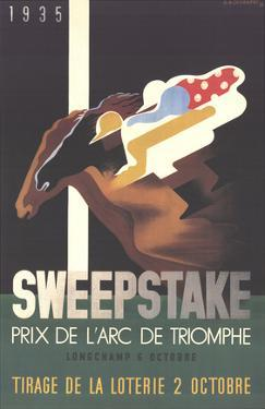 Sweepstake by Adolphe Mouron Cassandre