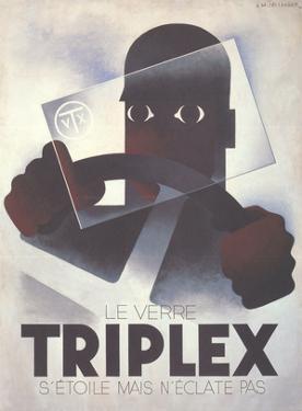 Triplex by Adolphe Mouron Cassandre