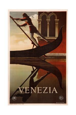 Venice by Adolphe Mouron Cassandre