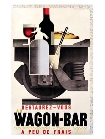 Wagon Bar by Adolphe Mouron Cassandre