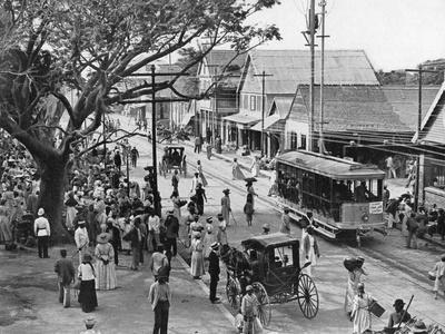 Jubilee Market Square, Kingston, Jamaica, C1905