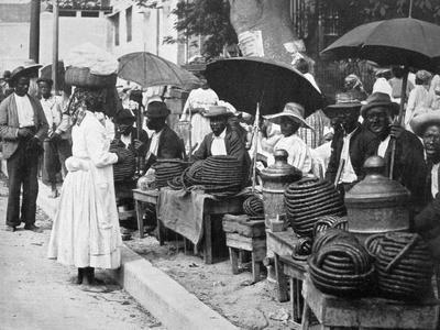 Rope Tobacco Sellers, Jamaica, C1905