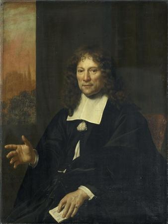 Daniel Niellius. Elder of the Remonstrant Church and Sampling Official of Alkmaar