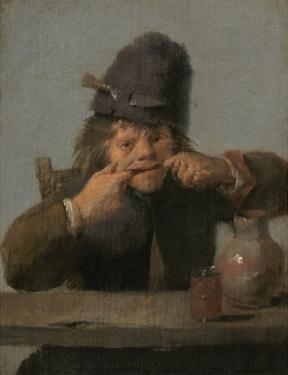 Youth Making a Face, 1632-35 by Adriaen Brouwer