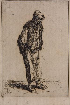 Peasant with His Hands Behind His Back, C.1647