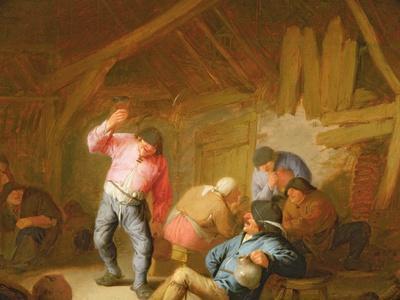 Peasants Merrymaking in an Inn, 1634