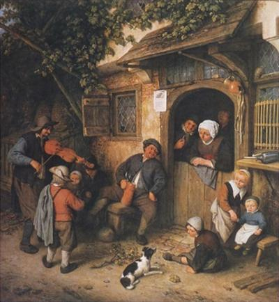 The Village-Fiddler , 1673