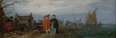 Autumn Conversation, Adriaen Pietersz Van De Venne