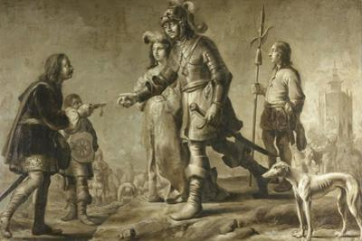 Boudewijn of Heusden and His Wife Sophia Receive Honors from the Envoy of King Edmund