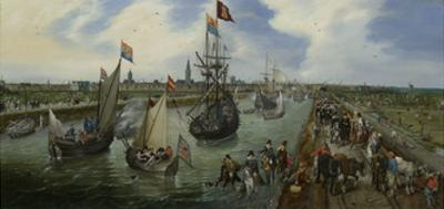 Departure of a Dignitary from Middelburg
