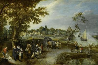 Landscape with Figures and a Village Fair (Village Kermesse)