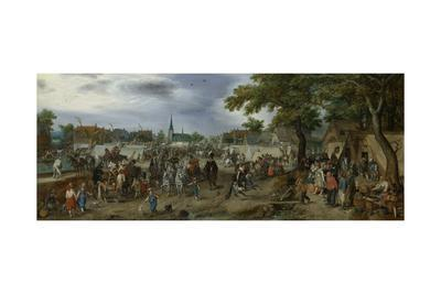 Prince Maurice and Frederick Henry at the Valkenburg Horse Fair