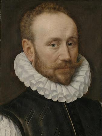 Portrait of a Man by Adriaen Thomasz Key