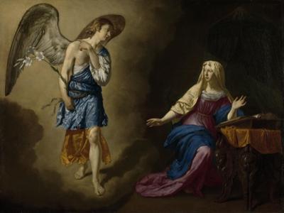 Annunciation, Adriaen Van De Velde by Adriaen van de Velde