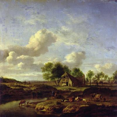 The Little Farm, 1661 by Adriaen van de Velde