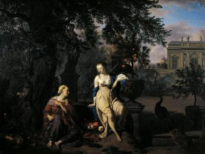 Vertumnus and Pomona, 1670 by Adriaen van de Velde