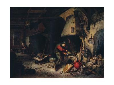 'An Alchemist', 1661