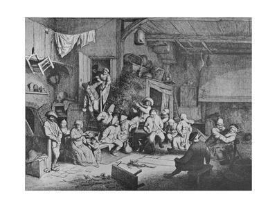 'Dance in a Tavern', 1652