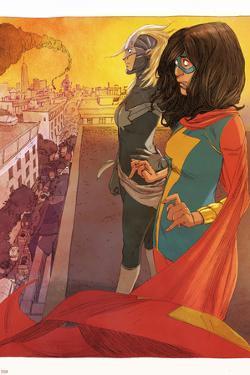Ms. Marvel (Kamala Khan),Captain Marvel Featuring Ms. Marvel (Kamala Khan), Captain Marvel by Adrian Alphona