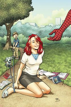 Spider-Man Loves Mary Jane Season 2 No.2 Cover by Adrian Alphona