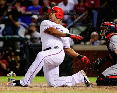 Adrian Beltre Home Run Game 5 of the 2011 MLB World Series Action(#19)