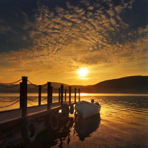 Evening Light, Ullswater by Adrian Campfield