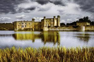 Moods over Leeds Castle by Adrian Campfield