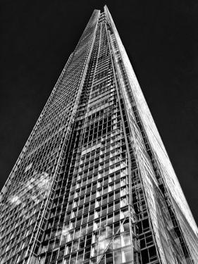 The Shard in Mono by Adrian Campfield