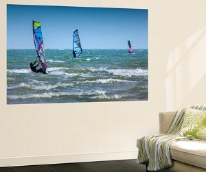Wind Surfing by Adrian Campfield