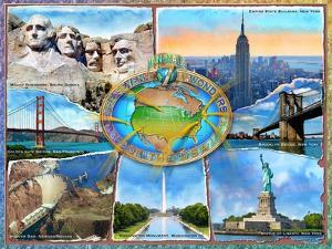 Seven Man Made Wonders of the USA by Adrian Chesterman