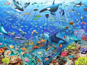 Underwater Scene by Adrian Chesterman