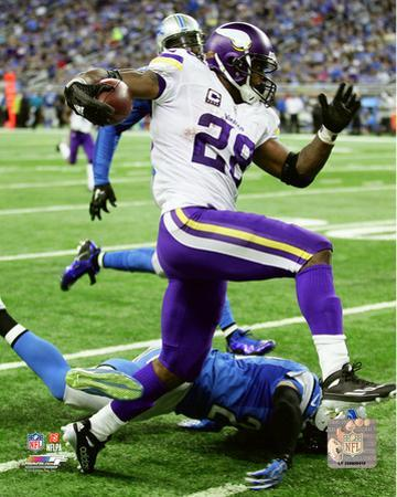 Adrian Peterson 2015 Action