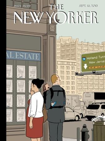 Crossroads - The New Yorker Cover, September 16, 2013