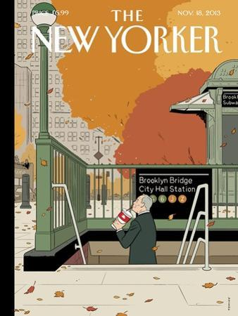 Last Straw - The New Yorker Cover, November 18, 2013