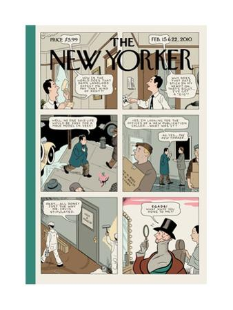The New Yorker Cover - February 15, 2010
