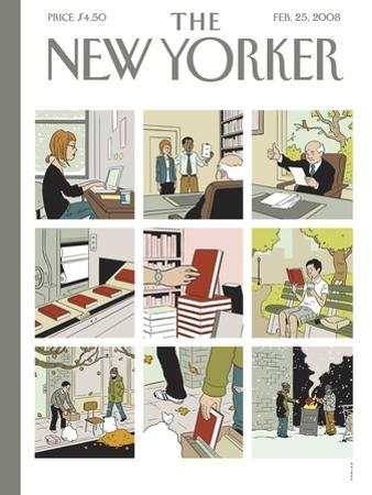 The New Yorker Cover - February 25, 2008
