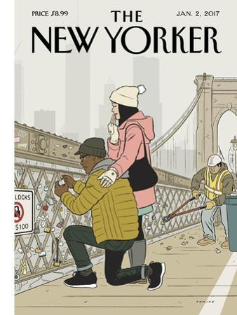 The New Yorker Cover - January 2, 2017