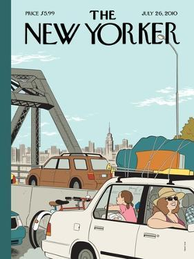 The New Yorker Cover - July 26, 2010 by Adrian Tomine