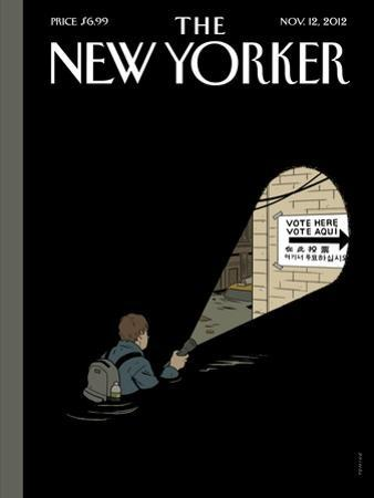 The New Yorker Cover - November 12, 2012