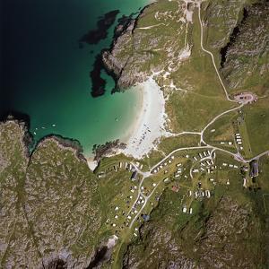 Aerial Image of Scotland, UK: Achmelvich by Adrian Warren