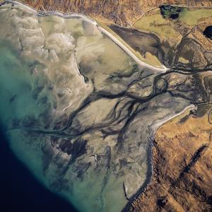 Aerial Image of Scotland, UK: Barrisdale Bay by Adrian Warren